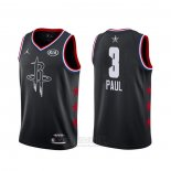 Camiseta All Star 2019 Houston Rockets Chris Paul #3 Negro
