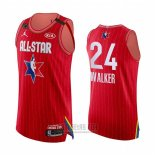 Camiseta All Star 2020 Boston Celtics Kemba Walker Autentico #24 Rojo