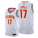 Camiseta Atlanta Hawks Clint Capela #17 Association 2019-20 Blanco