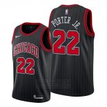 Camiseta Chicago Bulls Otto Porter Jr. #22 Statement Edition Negro