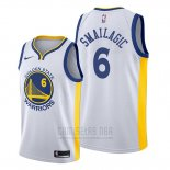 Camiseta Golden State Warriors Alen Smailagic #6 Association Blanco