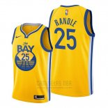 Camiseta Golden State Warriors Chasson Randle #25 Statement 2020 Amarillo