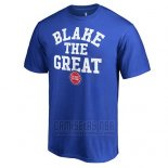 Camiseta Manga Corta Detroit Pistons Azul Blake The Great