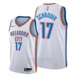 Camiseta Oklahoma City Thunder Dennis Schroder #17 Association Blanco