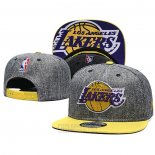 Gorra Los Angeles Lakers 9FIFTY Snapback Gris Amarillo