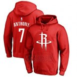 Sudaderas con Capucha Carmelo Anthony Houston Rockets Rojo