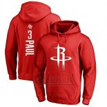 Sudaderas con Capucha Chris Paul Houston Rockets Rojo3