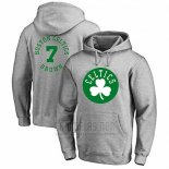 Sudaderas con Capucha Jaylen Brown Boston Celtics Gris