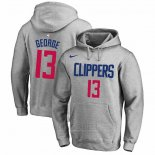 Sudaderas con Capucha Paul George Los Angeles Clippers Gris