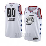 Camiseta All Star 2019 Portland Trail Blazers Personalizada Blanco