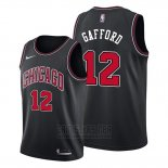 Camiseta Chicago Bulls Daniel Gafford #12 Statement Negro