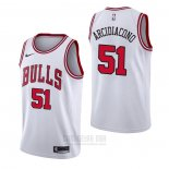 Camiseta Chicago Bulls Ryan Arcidiacono #51 Association Blanco