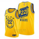 Camiseta Golden State Warriors Andrew Wiggins #22 Classic 2019-20 Amarillo
