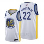 Camiseta Golden State Warriors Glenn Robinson III #22 Association Blanco