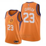 Camiseta Phoenix Suns Cameron Johnson #23 Statement Naranja