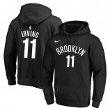 Sudaderas con Capucha Kyrie Irving Brooklyn Nets 2019-20 Negro2