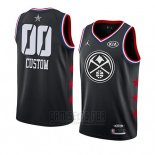 Camiseta All Star 2019 Denver Nuggets Personalizada Negro
