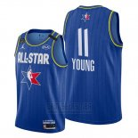 Camiseta All Star 2020 Atlanta Hawks Trae Young #11 Azul