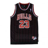 Camiseta Chicago Bulls Michael Jordan #23 Retro 1995-96 Negro