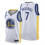 Camiseta Golden State Warriors Eric Paschall #7 Association Blanco