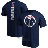 Camiseta Manga Corta Rui Hachimura Washington Wizards Azul