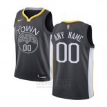 Camiseta Nino Golden State Warriors Personalizada 17-18 Negro