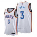 Camiseta Oklahoma City Thunder Chris Paul #3 Association Blanco