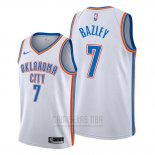 Camiseta Oklahoma City Thunder Darius Bazley #7 Association Blanco