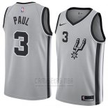 Camiseta San Antonio Spurs Brandon Paul #3 Statement 2018 Gris