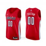 Camiseta Washington Wizards Personalizada Earned Rojo