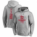Sudaderas con Capucha Chris Paul Houston Rockets Gris3