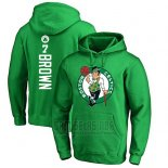 Sudaderas con Capucha Jaylen Brown Boston Celtics Verde2