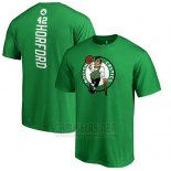 Camiseta Manga Corta Al Horford Boston Celtics Verde