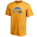 Camiseta Manga Corta Denver Nuggets Amarillo2