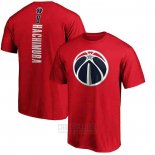 Camiseta Manga Corta Rui Hachimura Washington Wizards Rojo