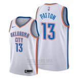 Camiseta Oklahoma City Thunder Justin Patton #13 Association Blanco