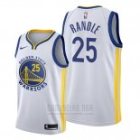 Camiseta Golden State Warriors Chasson Randle #25 Association 2020 Blanco