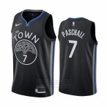 Camiseta Golden State Warriors Eric Paschall #7 Ciudad Edition Negro