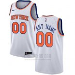 Camiseta New York Knicks Nike Personalizada 17-18 Blanco