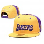 Gorra Los Angeles Lakers Amarillo2