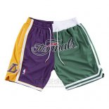 Pantalone Lakers VS Celtics Just Don 2008 NBA Finals