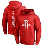 Sudaderas con Capucha Carmelo Anthony Houston Rockets Rojo3