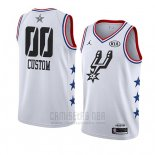 Camiseta All Star 2019 San Antonio Spurs Personalizada Blanco