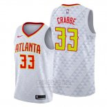 Camiseta Atlanta Hawks Allen Crabbe #33 Association Blanco