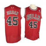 Camiseta Chicago Bulls Michael Jordan #45 Retro Rojo3