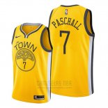 Camiseta Golden State Warriors Eric Paschall #7 Earned 2019-20 Amarillo