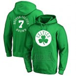 Sudaderas con Capucha Jaylen Brown Boston Celtics Verde