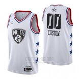 Camiseta All Star 2019 Brooklyn Nets Personalizada Blanco