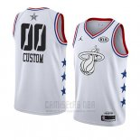Camiseta All Star 2019 Miami Heat Personalizada Blanco