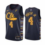 Camiseta Cleveland Cavaliers Kevin Porter Jr. #4 Statement 2019-20 Negro